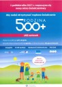 Plakat Program Rodzina 500plus